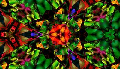 Digital Art - Abstraction Of Christmas by Vicki Lynn Sodora