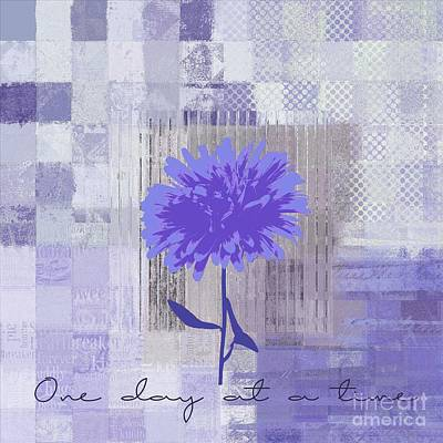 Digital Art - Abstractionnel - 29-3cp2 - One Day At A Time by Variance Collections