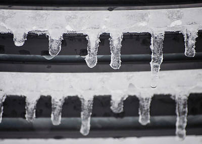 Abstractions - Icicles Art Print