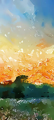 Abstractograpia  IIi Art Print by Gareth Davies