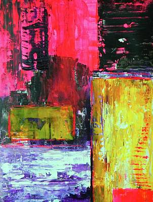 Bold Abstact Painting - Abstractor by Everette McMahan jr
