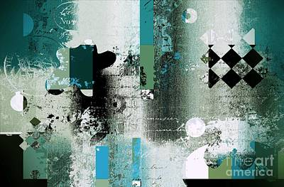 Abstracture - 21pp8bb Art Print by Variance Collections