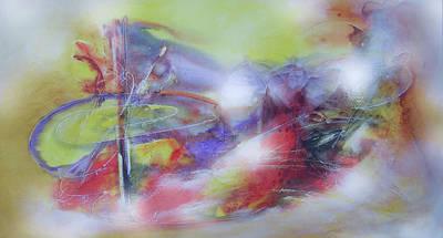 Quadro Digital Art - Abstrato Pa Zo Oopp by Fernando Antonio