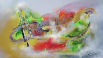 Quadro Digital Art - Abstrato Pe Zo Oopp Zp by Fernando Antonio
