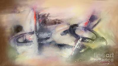 Quadro Digital Art - Abstrato Zzop by Fernando Antonio