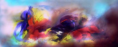 Quadro Digital Art - Abstrato Zzpf by Fernando Antonio