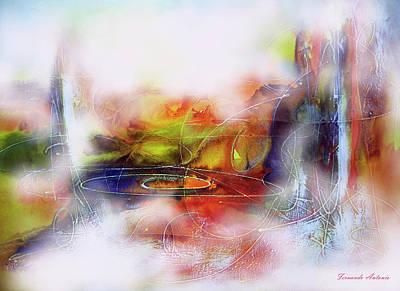 Quadro Digital Art - Abstrato Zzzb by Fernando Antonio