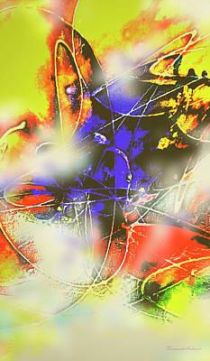 Quadro Digital Art - Abstrato Zzzm by Fernando Antonio