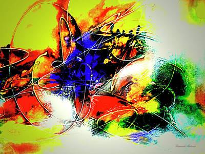 Quadro Digital Art - Abstrato Zzzo by Fernando Antonio