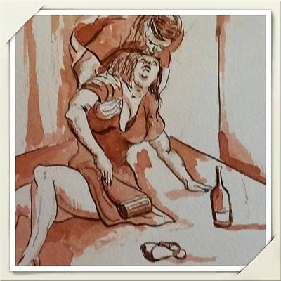 Drunken Wife Original by GW Smith