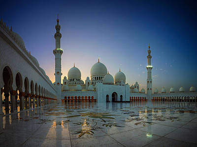 Photograph - Abu Dhabi Grand Mosque by Ian Good