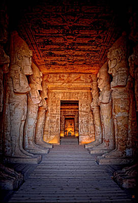 Photograph - Abu Simbel Great Temple by Nigel Fletcher-Jones