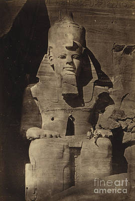 Abu Simbel Temple, 1862 Art Print by Science Source