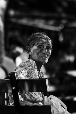 Abuela En Suchitoto 3 Art Print
