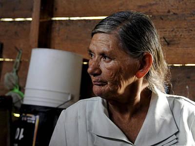 Abuela Grandmother Art Print