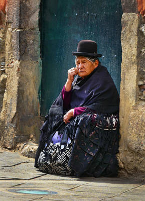 Photograph - Abuela by Skip Hunt
