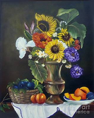 Painting - Abundance by Carol Sweetwood