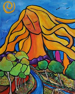 Painting - Abundance by Chaline Ouellet