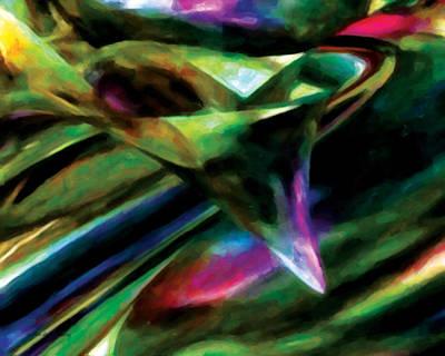 Greetingcard Painting - Abundance by Gerlinde Keating - Galleria GK Keating Associates Inc