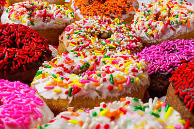 Bakery Photograph - Abundance Of Donuts by Garry Gay