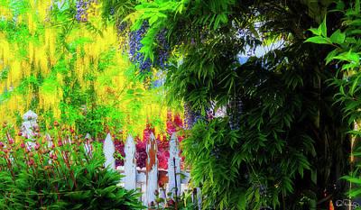 Photograph - Abundant Garden by Dee Browning