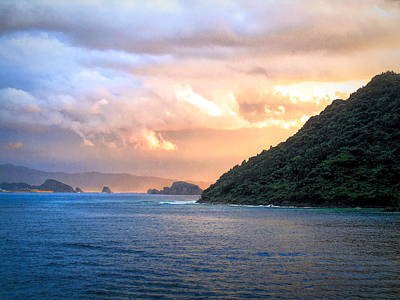 Photograph - Aburatsu Sunset by Susan Lafleur