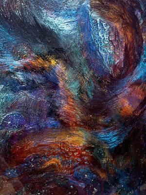 Abyss - Close Up Art Print by Paul Tokarski