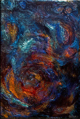 Outer Space Mixed Media - Abyss by Paul Tokarski