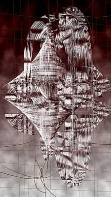 Black Digital Art - Ac-7-188-#rithmart by Gareth Lewis