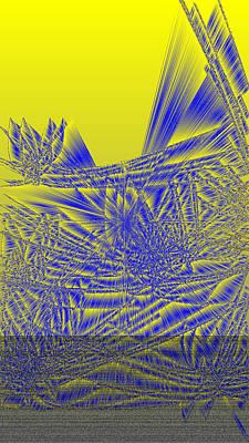Abstract Art Digital Art - Ac-7-2-#rithmart by Gareth Lewis