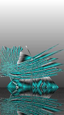 Three Digital Art - Ac-7-7-#rithmart by Gareth Lewis