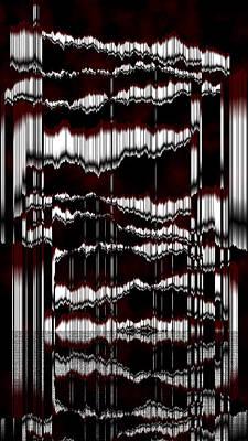 Gray Digital Art - Ac-8-1-#rithmart by Gareth Lewis
