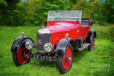 Photograph - Ac Classic Car by Adrian Evans