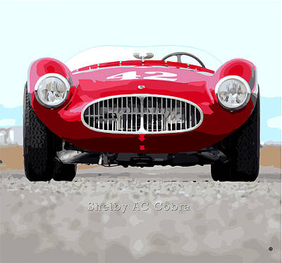 Digital Art - Ac Cobra by Gary Grayson
