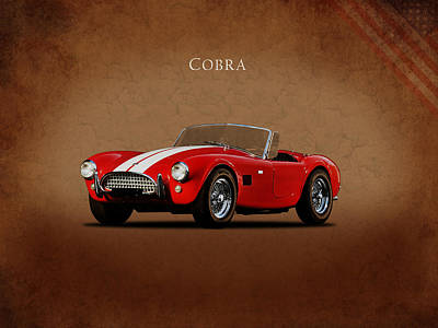 Cobra Wall Art - Photograph - Ac Cobra Mk2 1963 by Mark Rogan