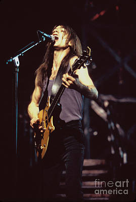 Photograph - Ac Dc Guitarist Malcolm Young by Concert Photos