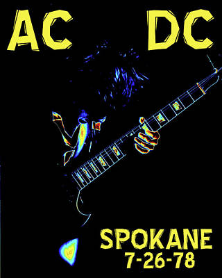 Photograph - Ac Dc Rocks 2 by Ben Upham