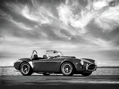 Cobra Photograph - Ac Shelby Cobra by Mark Rogan