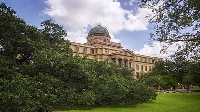 Universities Photograph - Academic Building by Joan Carroll