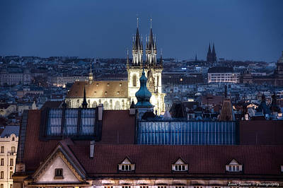 Photograph - Academy Of Arts, Architecture And Design  Prague by Isaac Silman