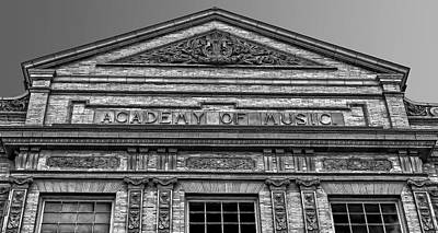 Photograph - Academy Of Music Nothampton Massachusets by Phil Cardamone
