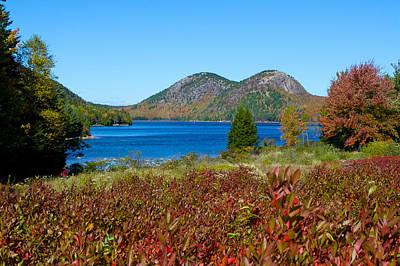 Photograph - Jordan Pond, Acadia by John Daly