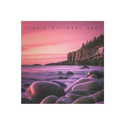 Coastal Maine Photograph - Acadia National Park by Chad Tracy