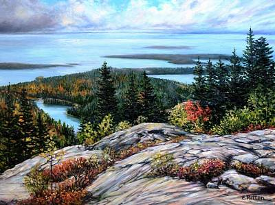 Painting - Acadia National Park by Eileen Patten Oliver