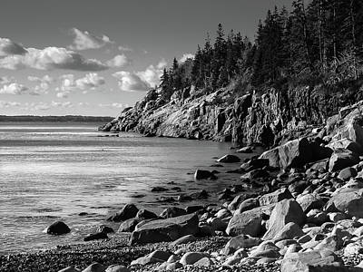 Photograph - Acadia National Park, Maine by Lee Coursey