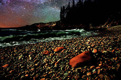 Photograph - Acadia Nights by Brent L Ander