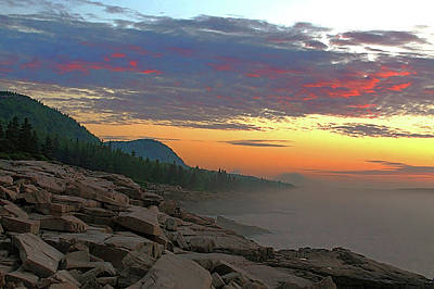 Photograph - Acadia Sunrise  by Jeff Heimlich