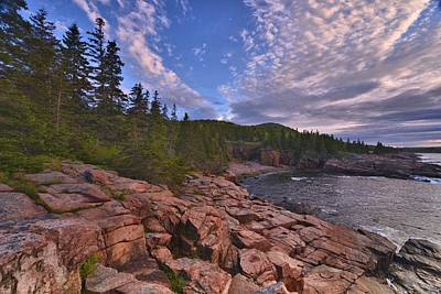 Photograph - Acadia Sunrise by Stephen  Vecchiotti