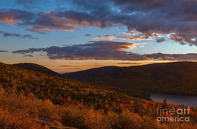 Acadia Sunset Art Print