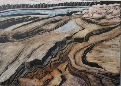 Drawing - Acadia - Wonderland View by Grace Keown